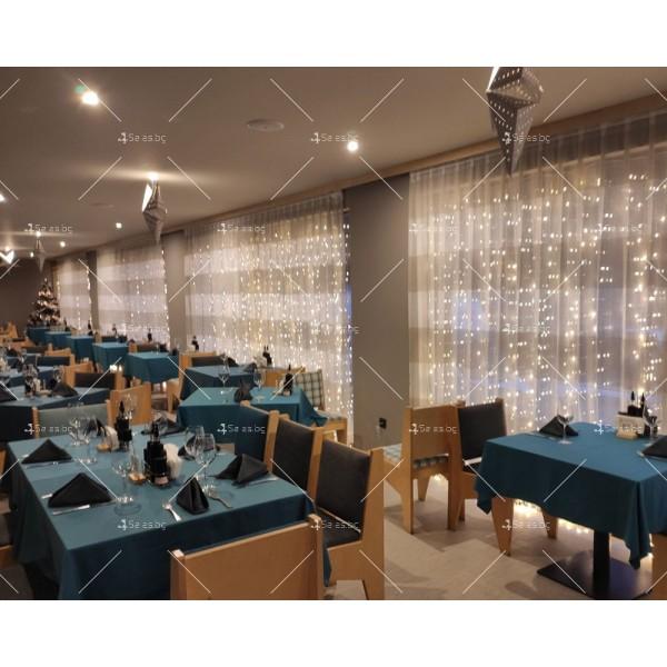 Светеща LED завеса с 400 лампички SD13 8