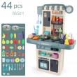 Голям комплект детска кухня с много различни компонента 44pcs WJ24 3