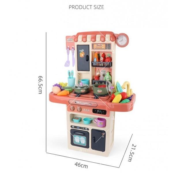 Голям комплект детска кухня с много различни компонента 44pcs WJ24 4