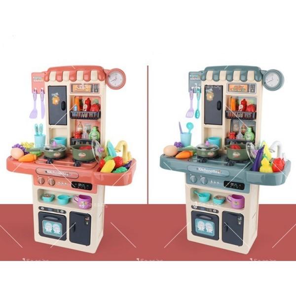 Голям комплект детска кухня с много различни компонента 44pcs WJ24 7