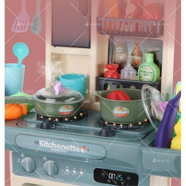 Голям комплект детска кухня с много различни компонента 44pcs WJ24 9