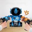 Детска игра с обстрелване на робот с меки топчета и пушка в комплекта WJ21 7