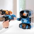 Детска игра с обстрелване на робот с меки топчета и пушка в комплекта WJ21 10