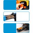 Детска игра с обстрелване на робот с меки топчета и пушка в комплекта WJ21 16