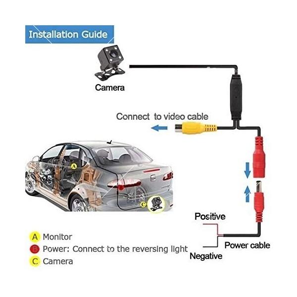Parking Assistance Rear Camera за задно виждане устойчива на вода PK KAM1 18