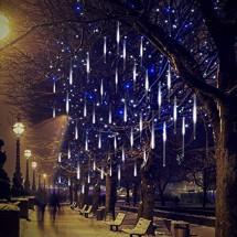 """Двустранни LED висулки """"падащ сняг"""" TV716B"""