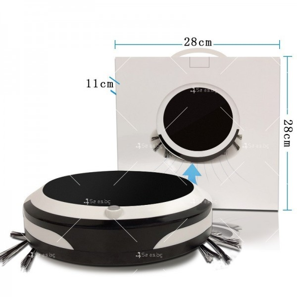 Безшумна мултифункционална прахосмукачка робот 3 в 1 ROBOT7 12