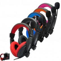 Геймърски слушалки с микрофон в различни цветове - Souyana S750 - EP11