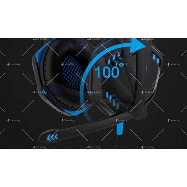 Удобни големи слушалки за игри Speed Spider G2000 - EP5 6
