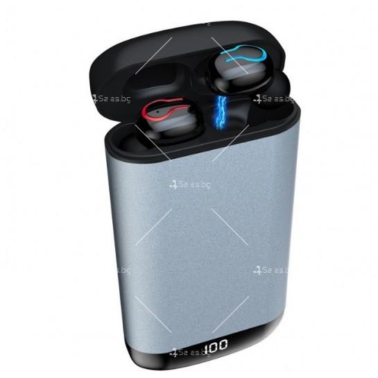 Безжични Bluetooth слушалки с метална кутия за зареждане Q66 TWS - EP7