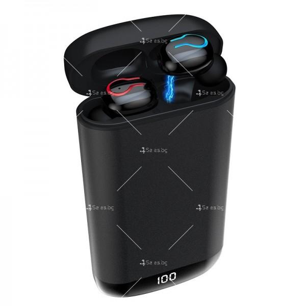 Безжични Bluetooth слушалки с метална кутия за зареждане Q66 TWS - EP7 2