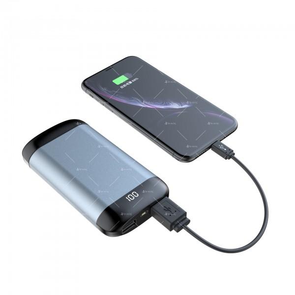 Безжични Bluetooth слушалки с метална кутия за зареждане Q66 TWS - EP7 4