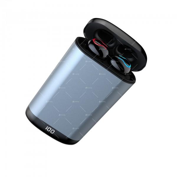 Безжични Bluetooth слушалки с метална кутия за зареждане Q66 TWS - EP7 10