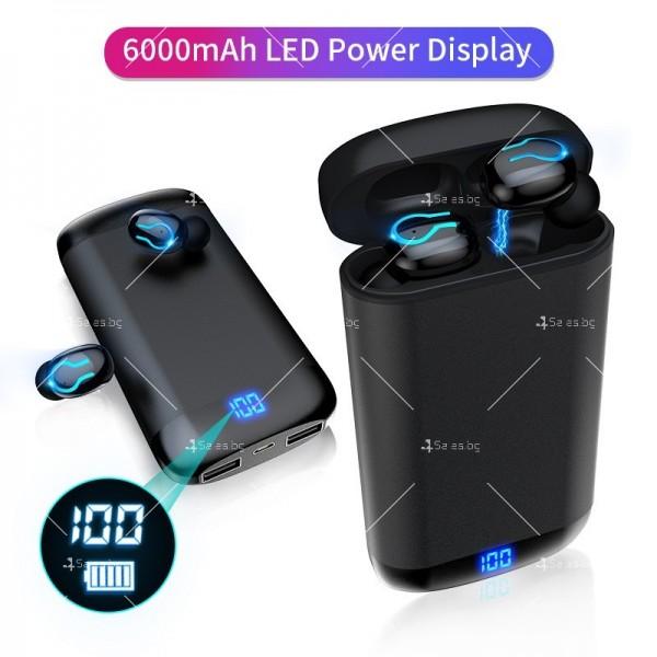 Безжични Bluetooth слушалки с метална кутия за зареждане Q66 TWS - EP7 11
