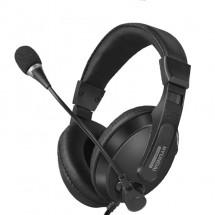 Компютърни слушалки с микрофон подходящи за игри Hyundai HY-6886 - EP10