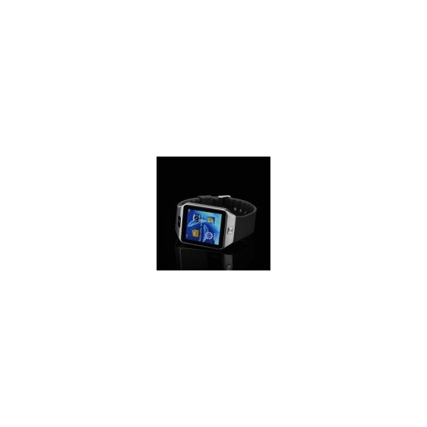 Мобилен телефон часовник 1 сим картa тъч скрин камера bluetooth радио SMW1 3