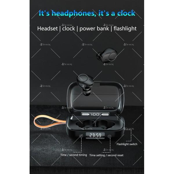 Безжични слушалки със зареждаща кутия с LED дисплей YW-А13 - EP13 3