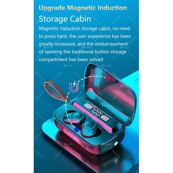Безжични слушалки със зареждаща кутия с LED дисплей YW-А13 - EP13 4