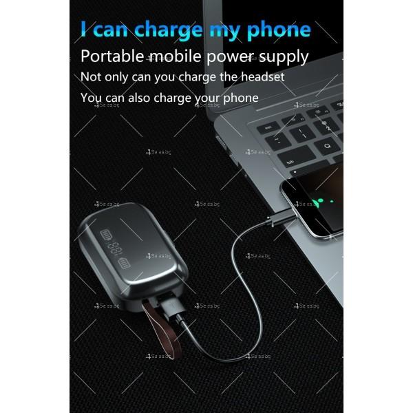 Безжични слушалки със зареждаща кутия с LED дисплей YW-А13 - EP13 7