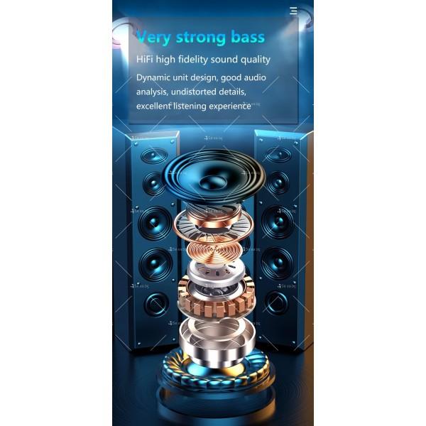 Безжични слушалки със зареждаща кутия с LED дисплей YW-А13 - EP13 12