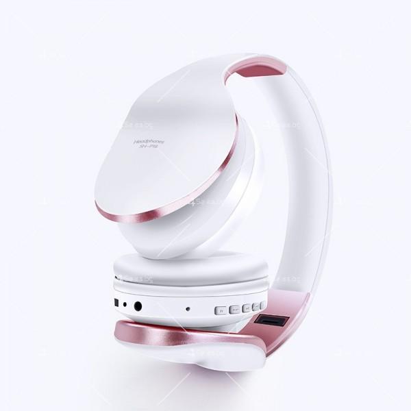 Безжични Bluetooth слушалки в три различни цвята SN-P18 - EP14 5
