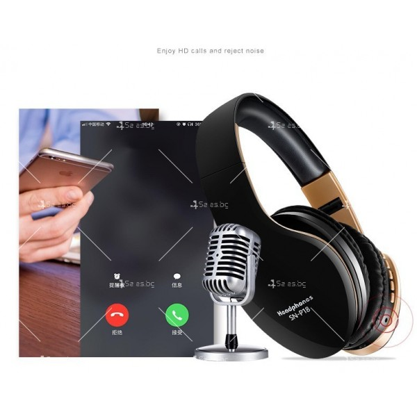 Безжични Bluetooth слушалки в три различни цвята SN-P18 - EP14 8