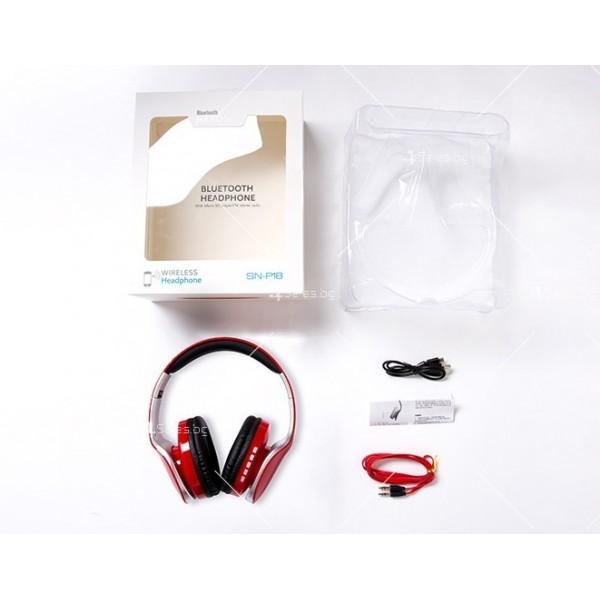 Безжични Bluetooth слушалки в три различни цвята SN-P18 - EP14 9