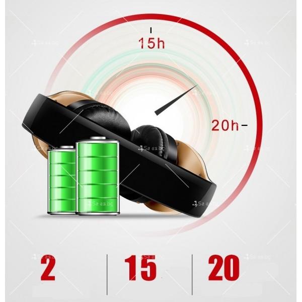 Безжични Bluetooth слушалки в три различни цвята SN-P18 - EP14 12