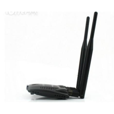 Мощен wifi приемник KINAMAX 5800mW 802.11b/g/n 150Mbpsобхват до 5600 метра