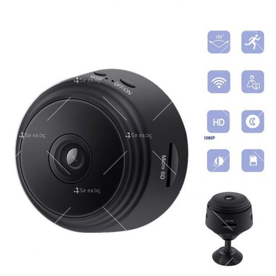 Висококачествена безжична мини камера, за домашна употреба SQ11 A9 - IP31