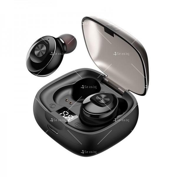 Спортни безжични мини bluetooth слушалки 5.0 XG8 TWS с цифров дисплей - EP6 3