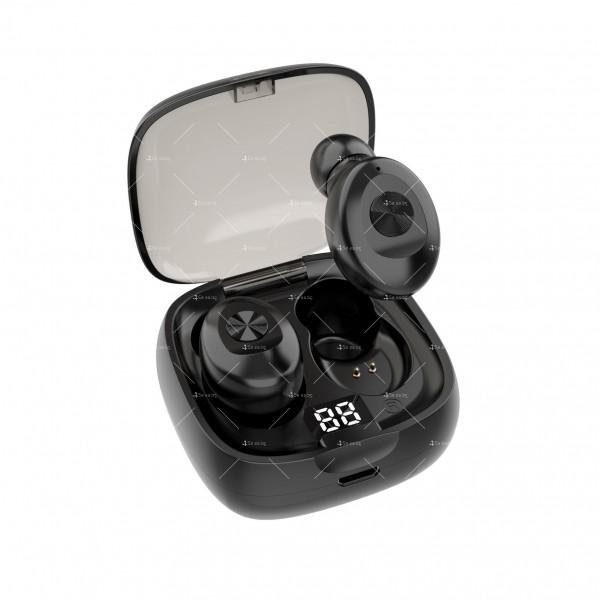 Спортни безжични мини bluetooth слушалки 5.0 XG8 TWS с цифров дисплей - EP6 5