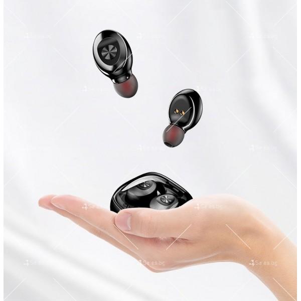 Спортни безжични мини bluetooth слушалки 5.0 XG8 TWS с цифров дисплей - EP6 6