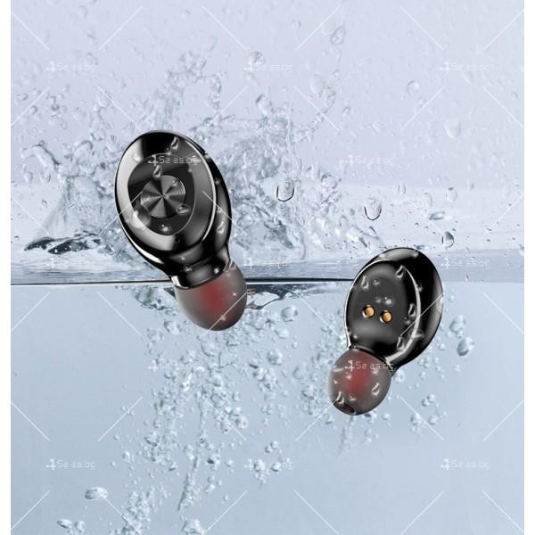 Спортни безжични мини bluetooth слушалки 5.0 XG8 TWS с цифров дисплей - EP6 7