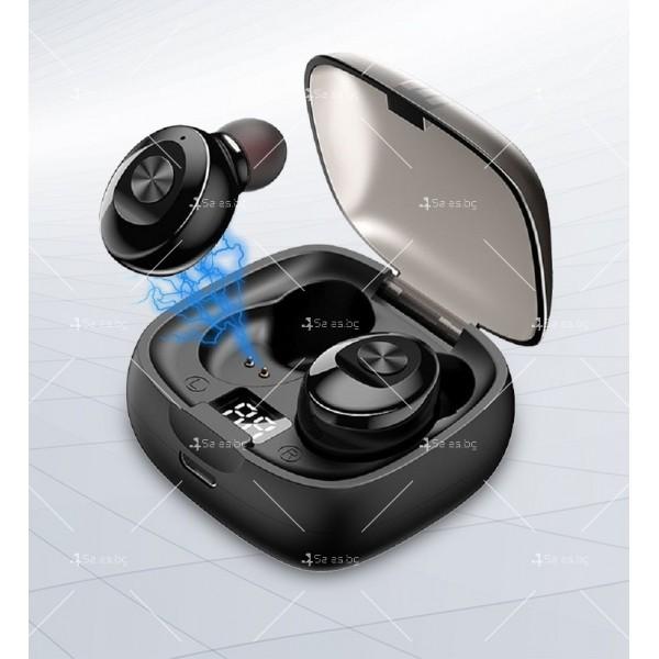 Спортни безжични мини bluetooth слушалки 5.0 XG8 TWS с цифров дисплей - EP6 8