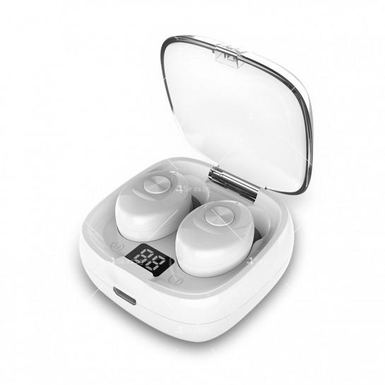 Спортни безжични мини bluetooth слушалки 5.0 XG8 TWS с цифров дисплей - EP6