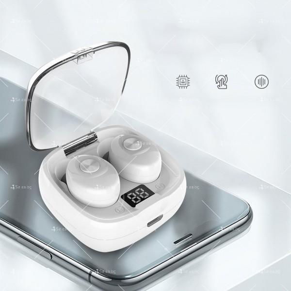 Спортни безжични мини bluetooth слушалки 5.0 XG8 TWS с цифров дисплей - EP6 9