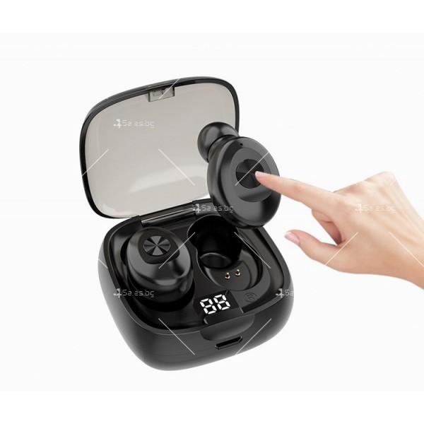 Спортни безжични мини bluetooth слушалки 5.0 XG8 TWS с цифров дисплей - EP6 10