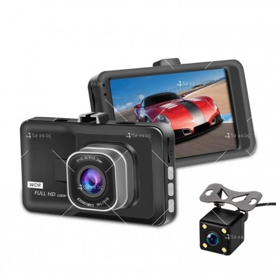 DVR Рекордер за кола с 3-инчов Full HD 1080P,цифров видео рекордер - AC98