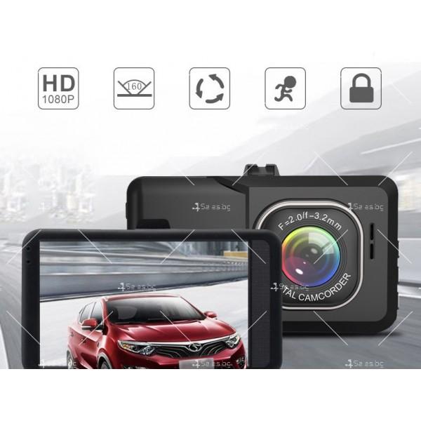 DVR Рекордер за кола с 3-инчов Full HD 1080P,цифров видео рекордер - AC98 4