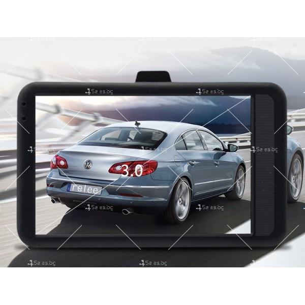 DVR Рекордер за кола с 3-инчов Full HD 1080P,цифров видео рекордер - AC98 6