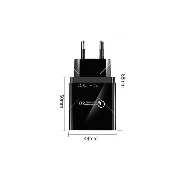 Устройство за скоростно зареждане с 4 USB порта Quick Charge 3.0 - CA24 4