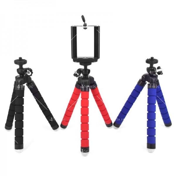 Висококачествен статив за мобилни устройства трипод с огъваеми крака ST17 2
