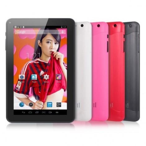 Розов 9 инча двуядрен таблет с 1 GB RAM ново