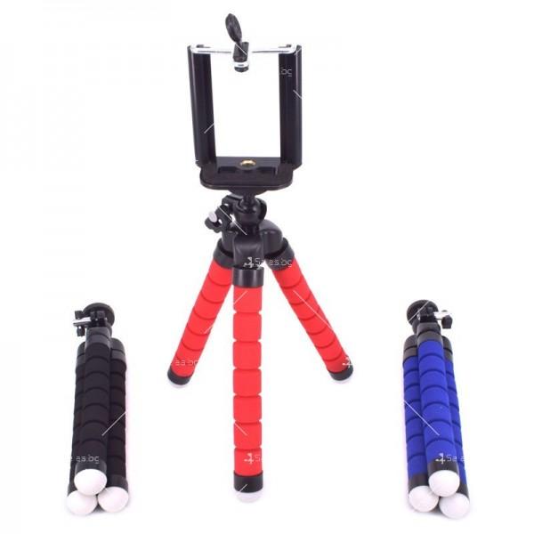 Висококачествен статив за мобилни устройства трипод с огъваеми крака ST17 10