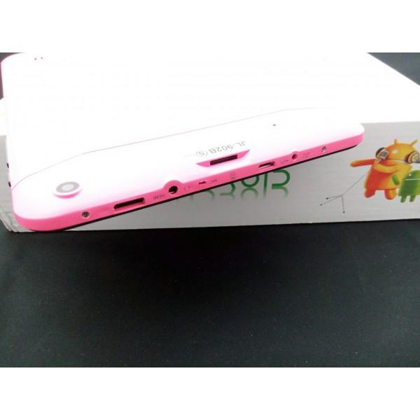 Розов 9 инча двуядрен таблет с 1 GB RAM ново 2