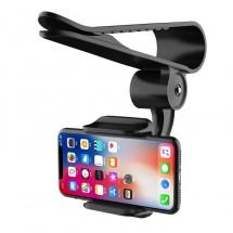 Стойка за мобилни устройства за автомобил, която се поставя върху сенника ST18