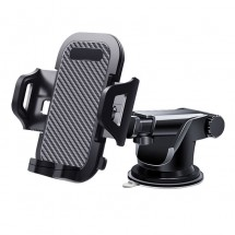 Автомобилна стойка за смартфон, въртяща се на 360° с телескопично удължение ST19