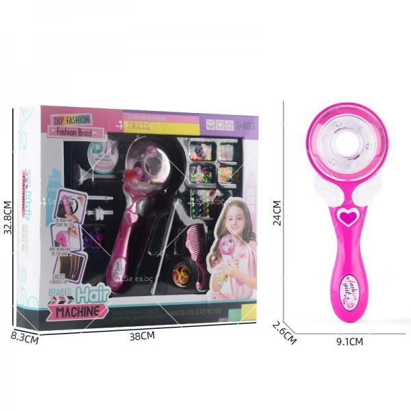 Детски уред за вплитане на плитки и декорации в косата TV681-1 2
