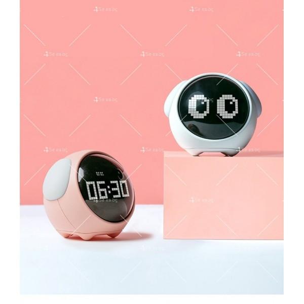 Емоджи часовник-аларма с голям цифров дисплей TV682 1